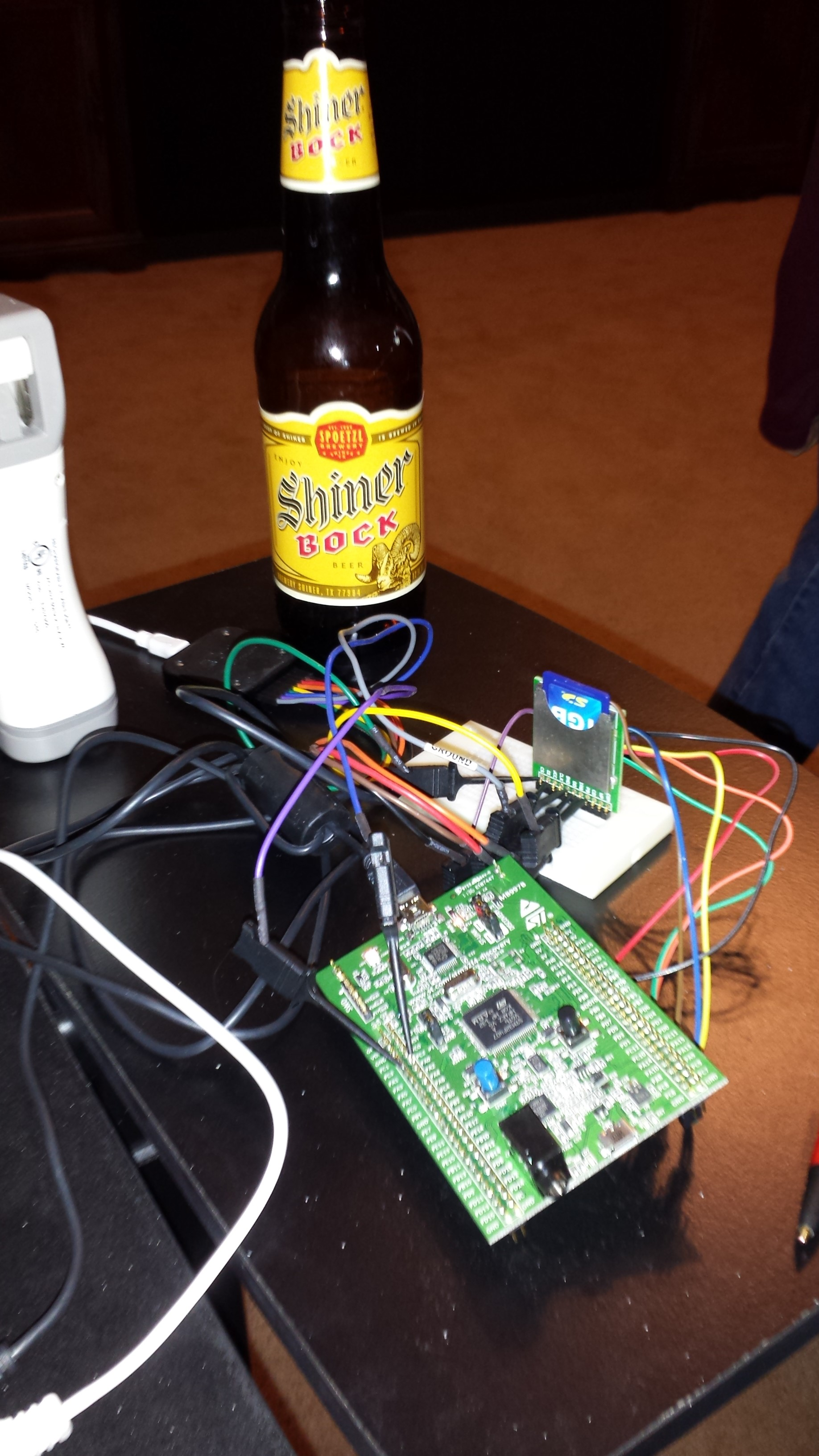 FAT and SDIO on the STM32F4: Early Experiments