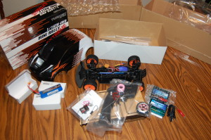 Contents of the box.
